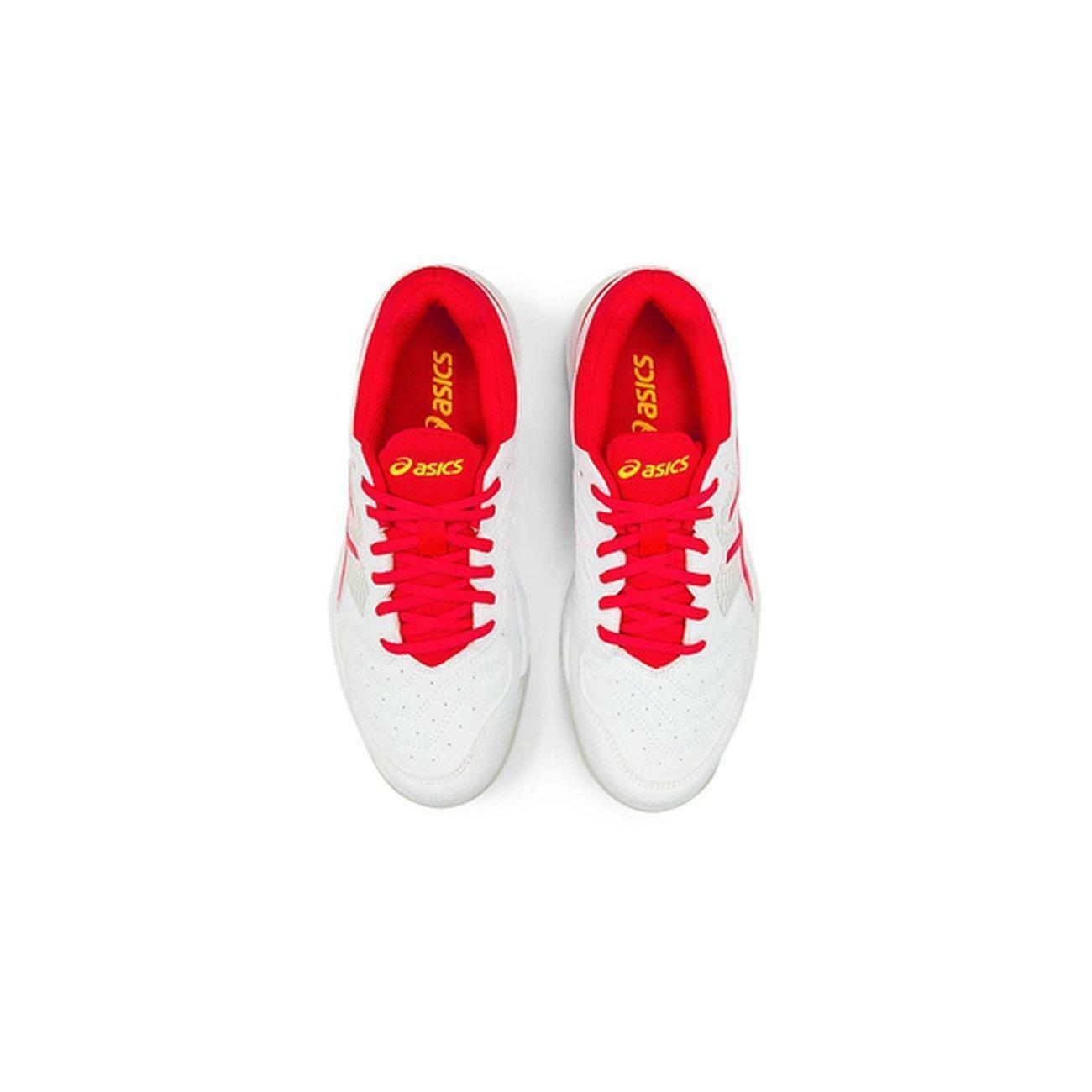 asics gel dedicate 6 clay donna scarpa sportiva 1042a073 bianco