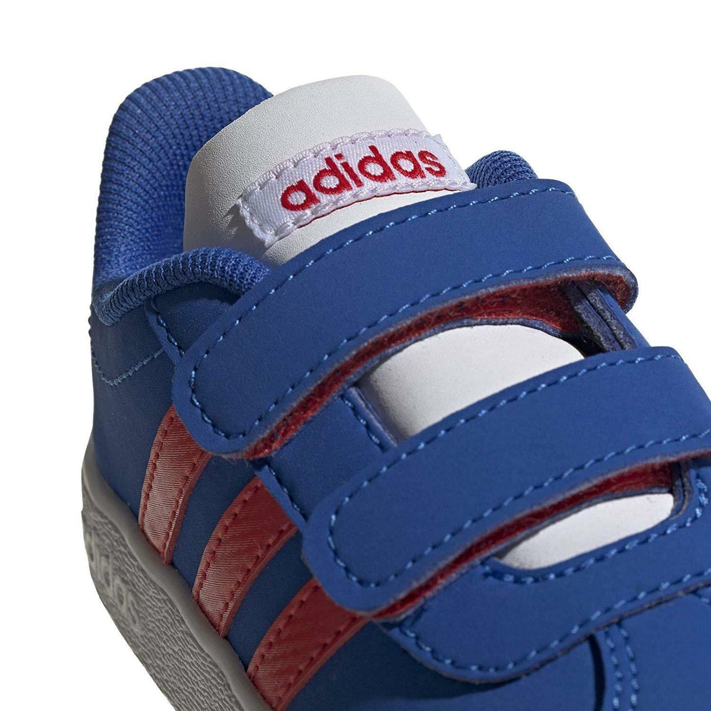 adidas vl court 2.0 cmf i bambino strappo sportivo ee6910 blu