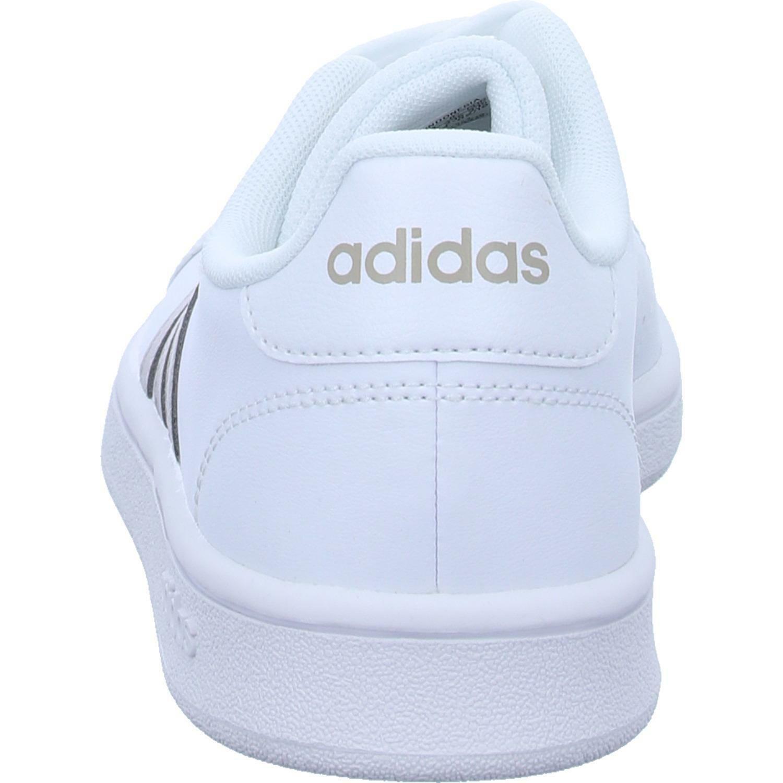 adidas adidas grand court base donna sneaker bassa ee7874 bianco