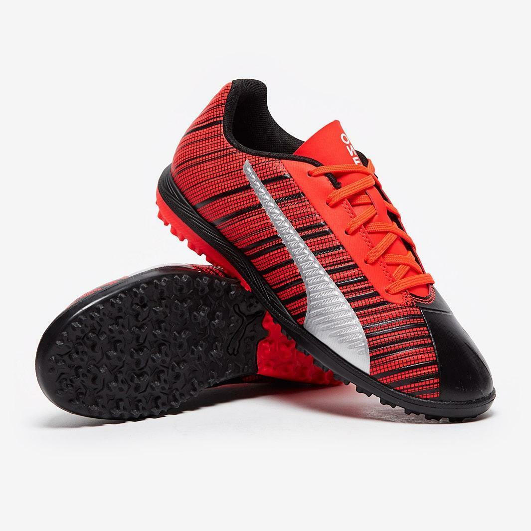 puma puma one 5.4 tt jr 105662 001 scarpe da calcetto bambino arancio