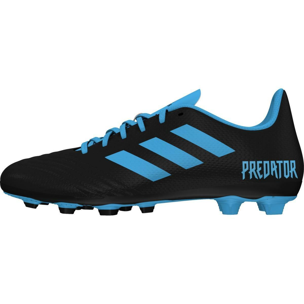 adidas adidas predator 19.4 fxg j bambino g25823 nero