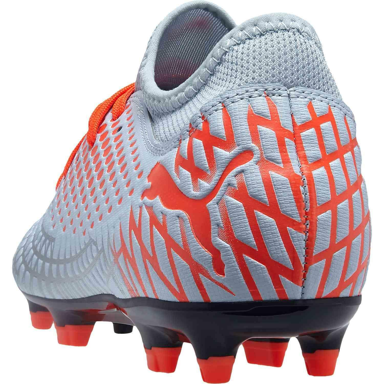 puma puma future 4.4 fg/ag  scarpe calcio 105613 001 argento