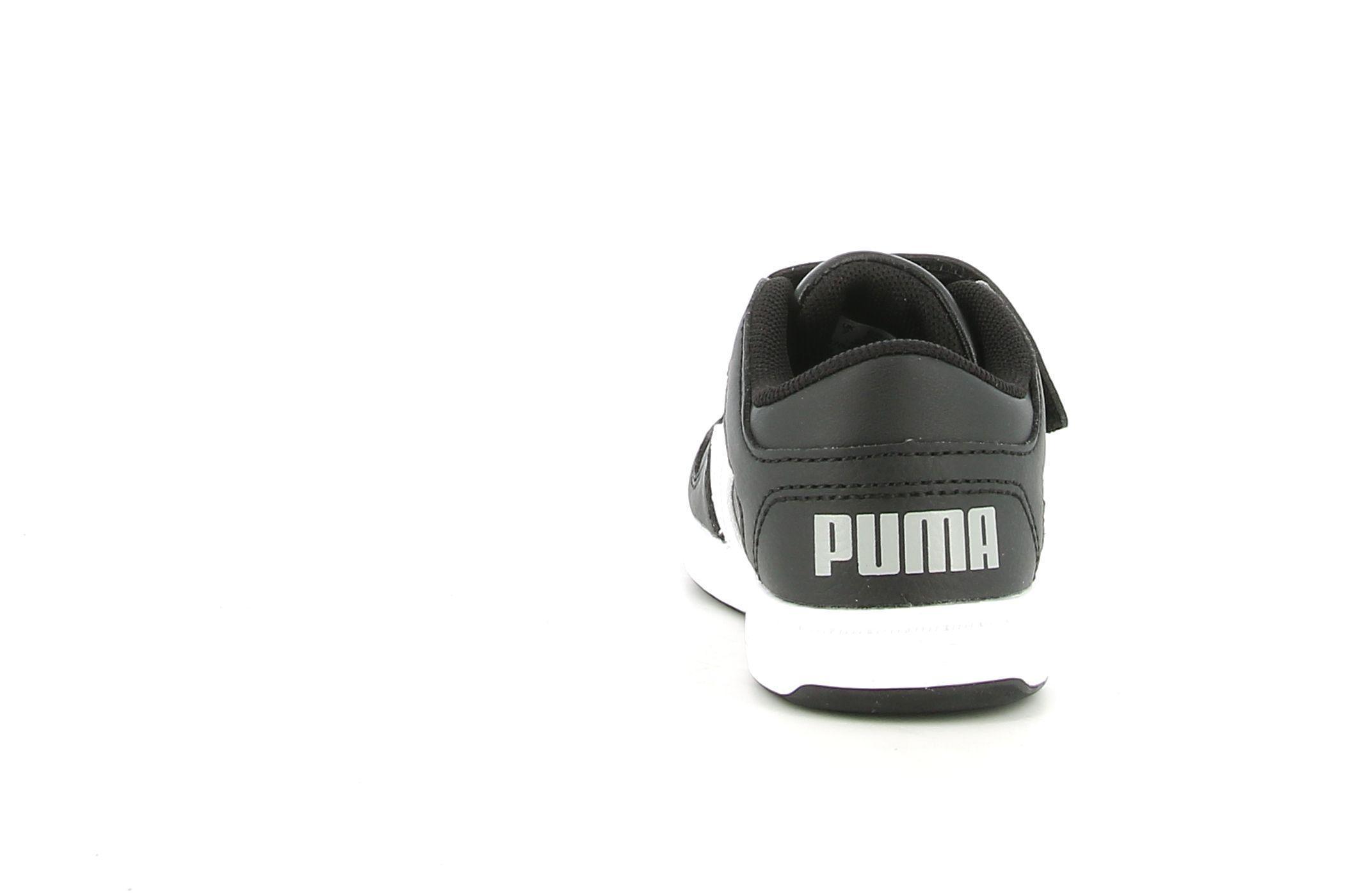 puma puma rebound layup lo sl v inf bambino 370493 002 nero