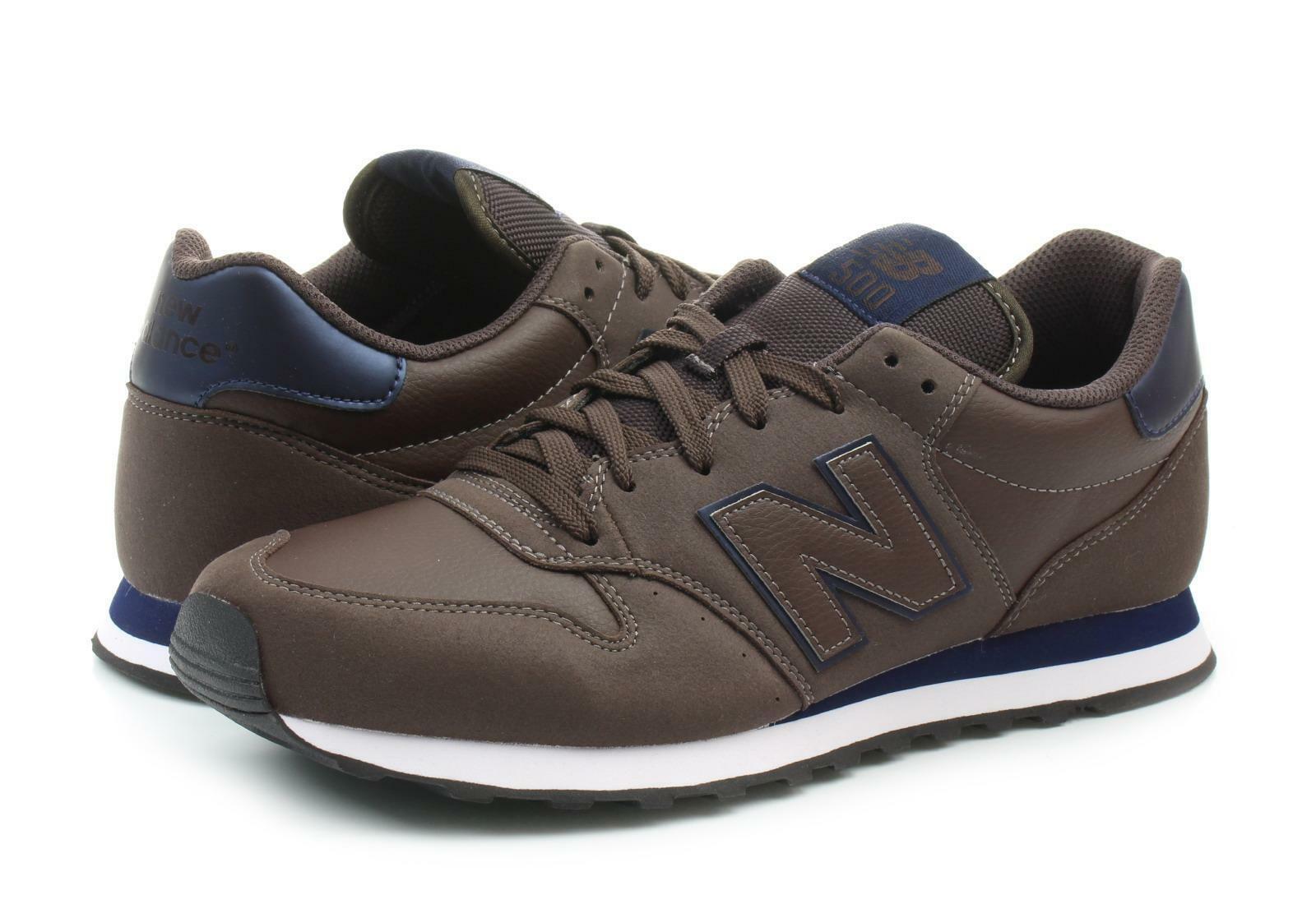 new balance new balance sportivo gm500dbn marrone scarpe sportive uomo