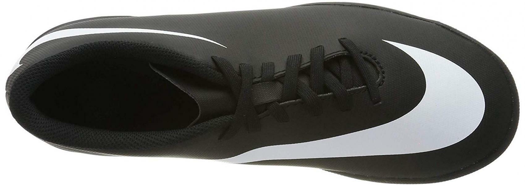 nike nike bravata ii (tf) 844437 001 scarpa da calcetto unisex adulto nero