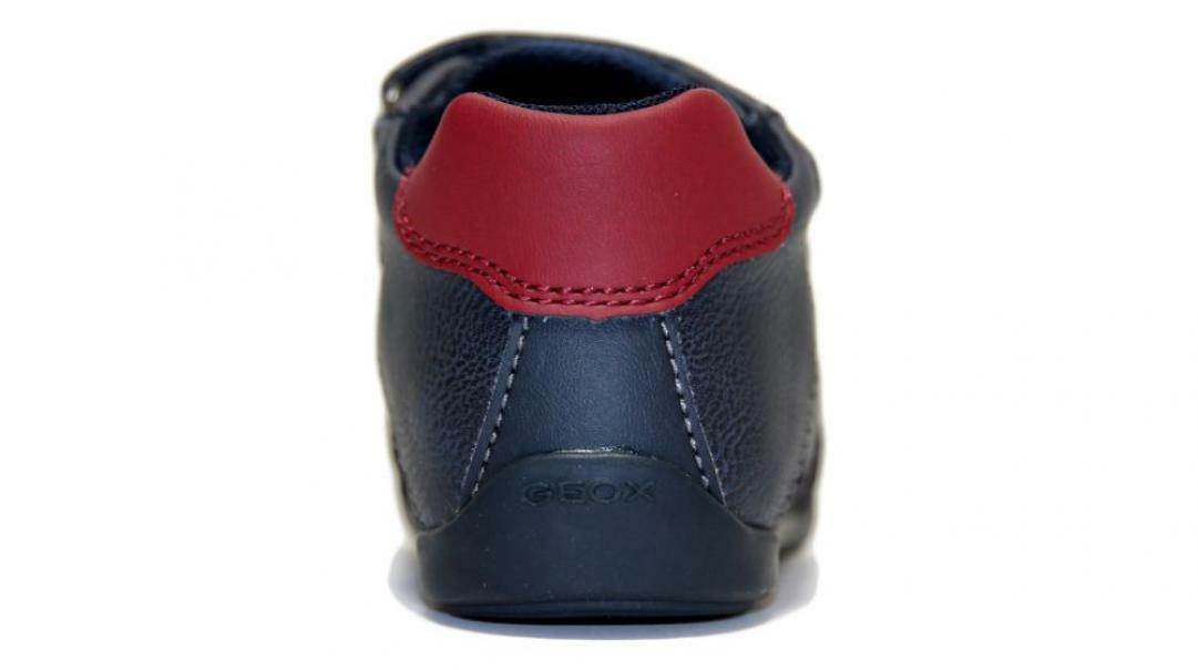 geox geox strappo sportivo bambino  b941pc 0mebc c0735 blu rosso