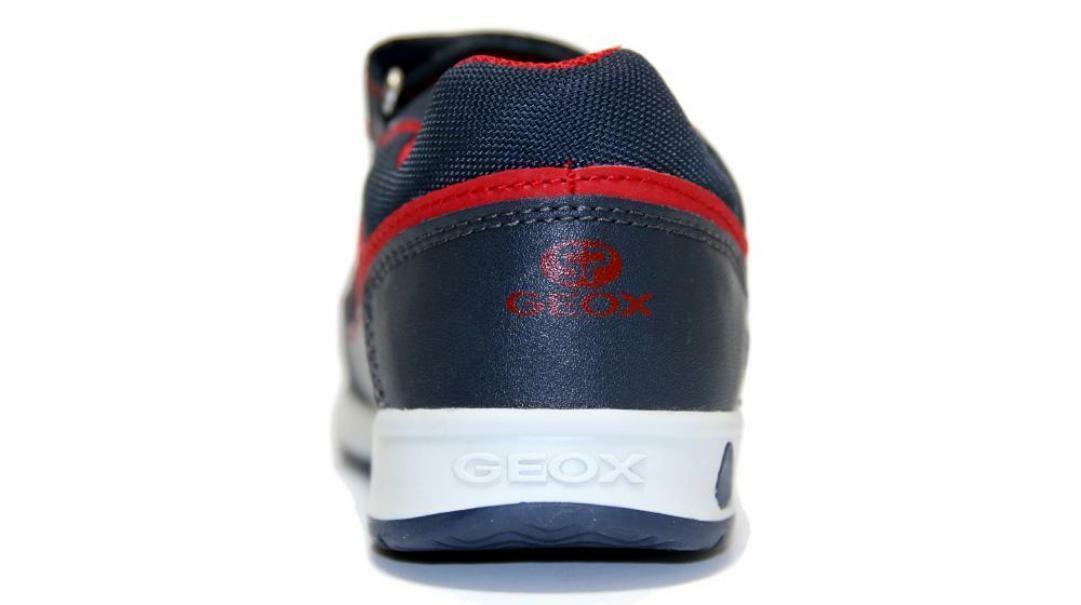 geox geox strappo sportivo bambino b941ra 054fu c0735 blu rossa