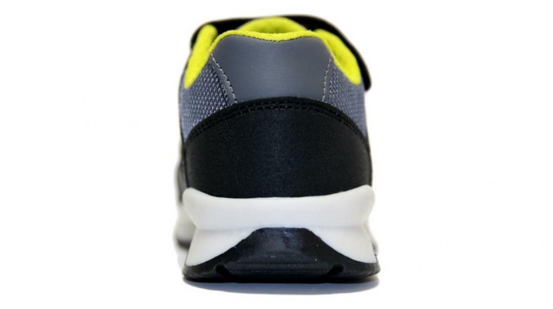 geox geox strappo sportivo bambino j925da 0cefu c0802 nero gialla