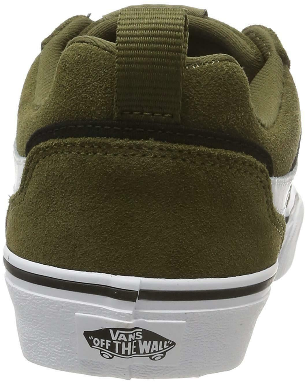 vans vans sneakers bassa uomo vn0a3mtjuzh1 verde militare