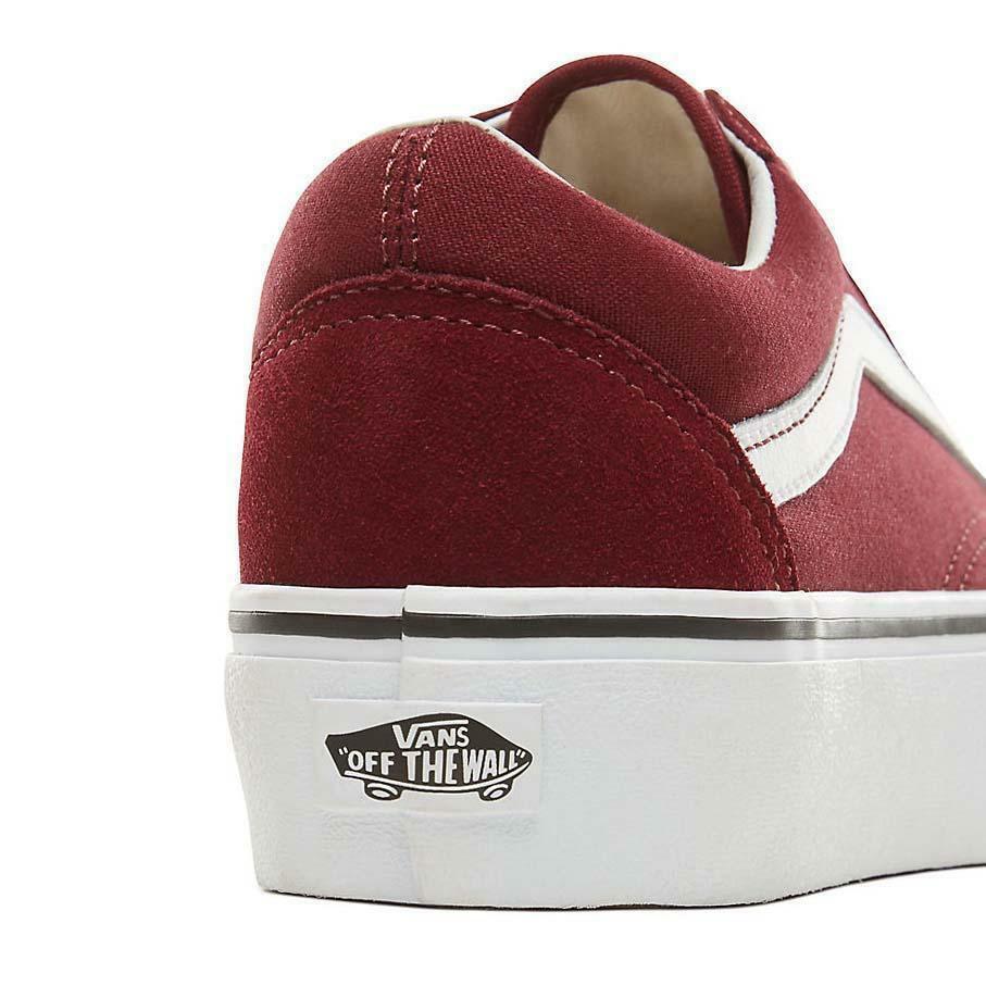 vans vans sneakers zeppa donna ward platform vn0a3tlcjx51 bordeaux