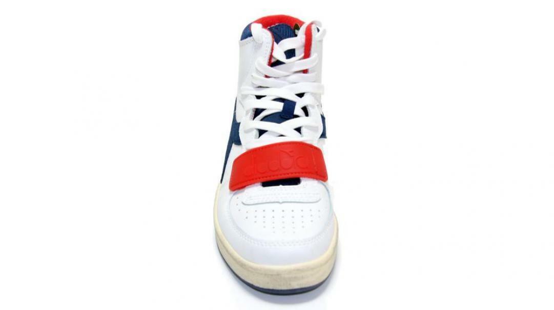 diadora diadora mi basket used sneaker uomo 174766 bianco