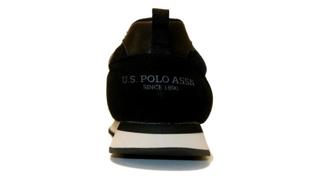 u.s. polo assn. u.s. polo assn. allacciato sportivo uomo  nobil4215s8/ts3 nero