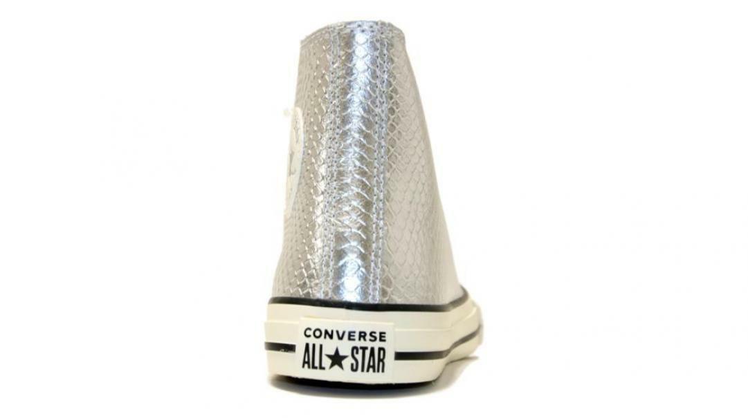 converse converse sneaker bambina ctas hi 665834c argento