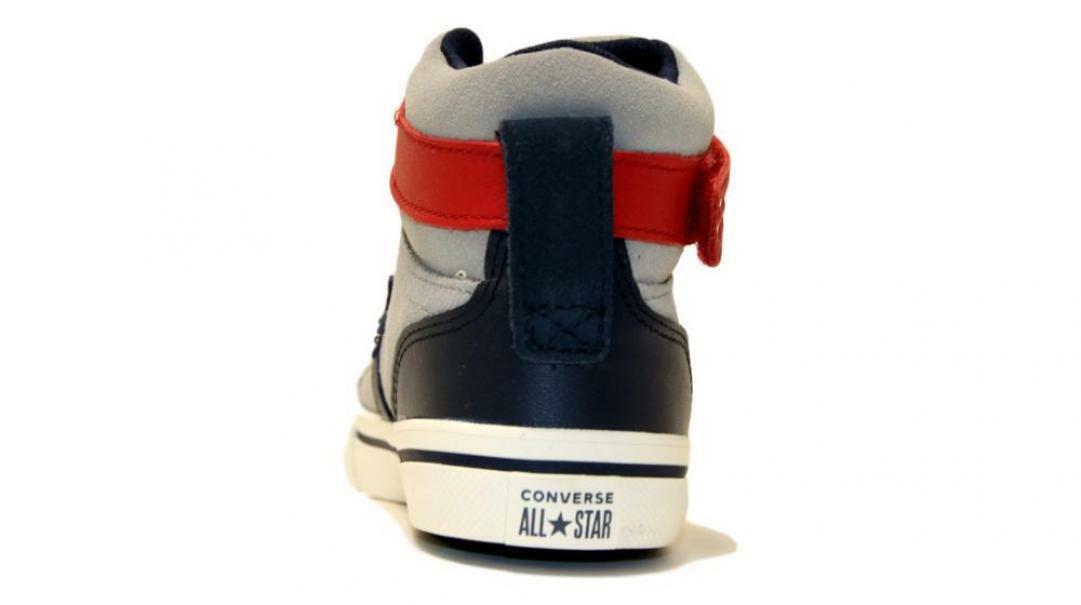 converse converse sneakers bambina pro blaze str.hi 665838c grigio