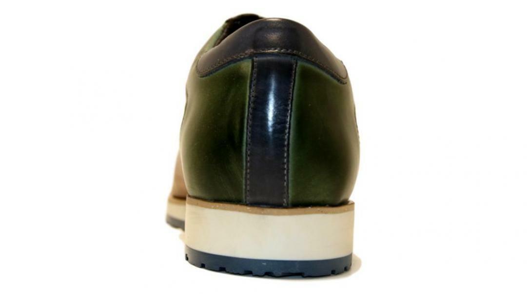 sergio cippitelli sergio cippitelli allacciato sportivo 2508b ni verde blu