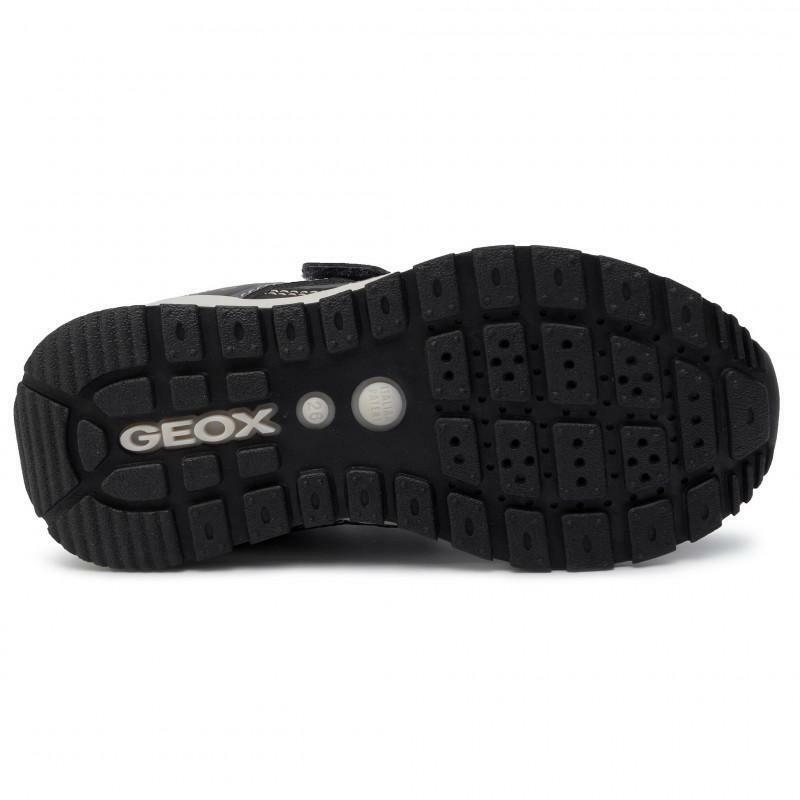 geox geox strappo sportivo bambino j925da 0cefu c9ak4 grigio