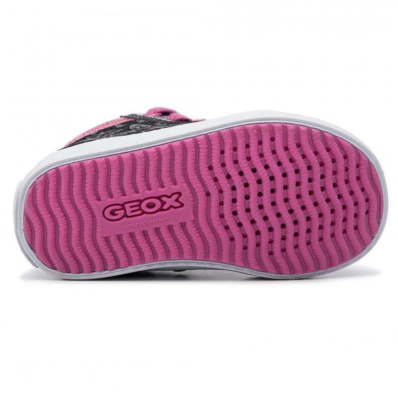 geox geox sneakers bambina b941ma 002au c0922 nero fuchsia
