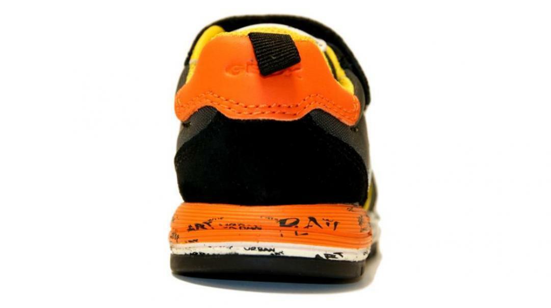 geox geox strappo sportivo bambino b943cc 0fu22 c9a2t nero