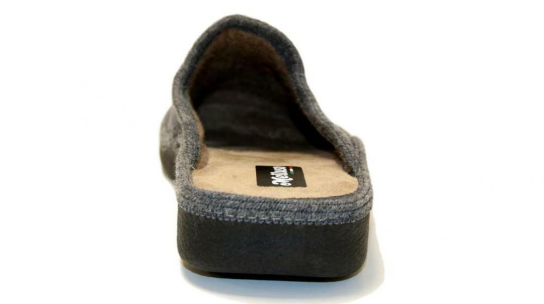 melluso melluso pantofole donna pu157f grigio