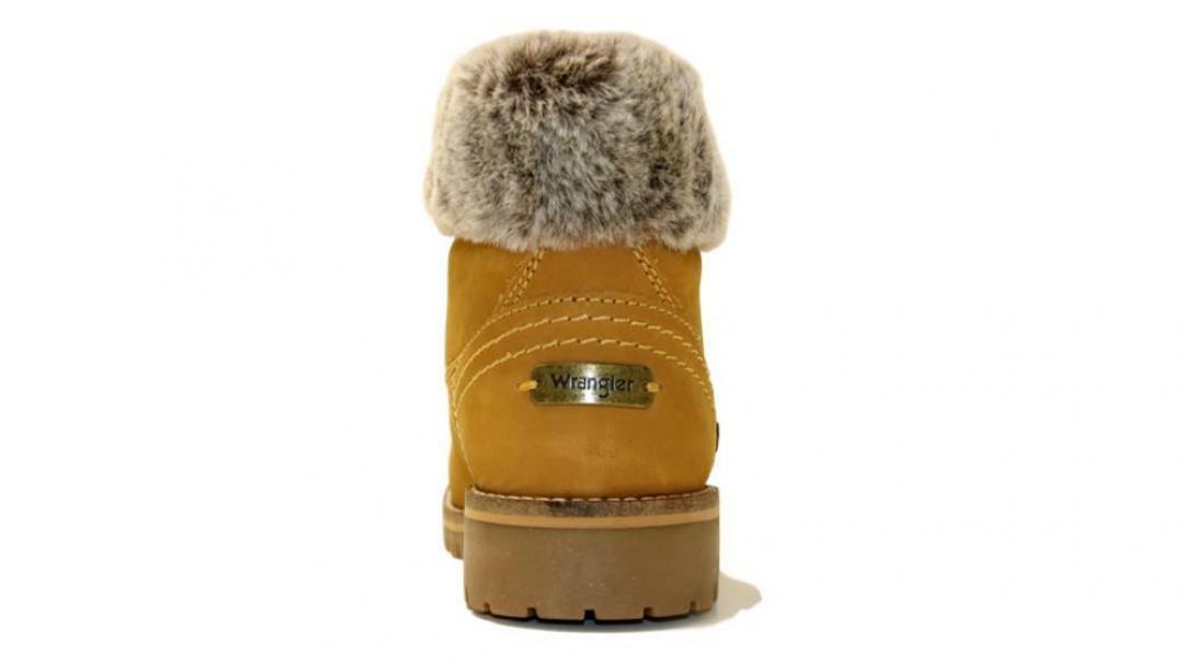 wrangler wrangler scarponcino donna wl92512a giallo