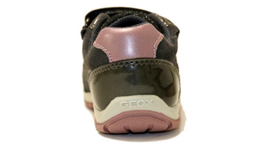 geox strappo sportivo bambina b9433c 022hi c9002 geox grigio