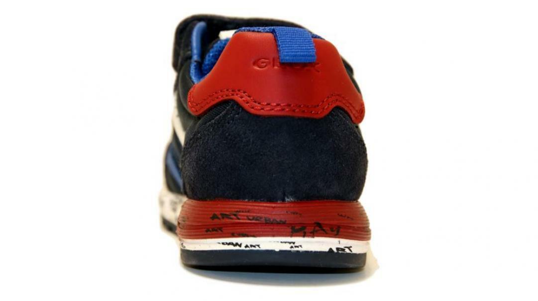 Geox strappo sportivo bambino b943cc 0fu22 c4244 blu