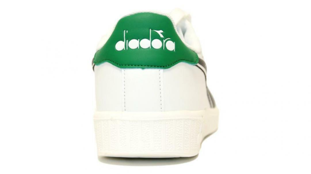 diadora diadora game p uomo 160281 bianco/verde