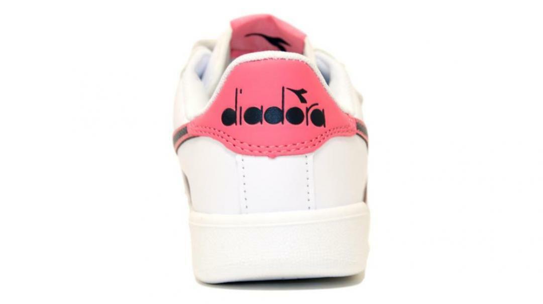 diadora diadora bambina game p ps 173324 bianco/rosa