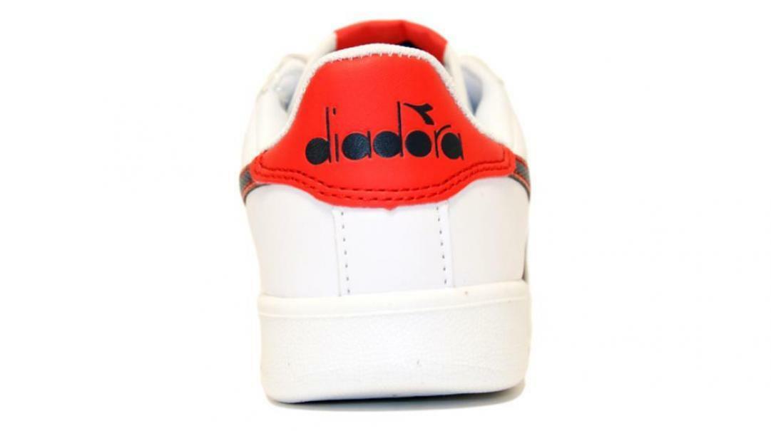 diadora diadora bambino game p ps 173324 bianco/rosso