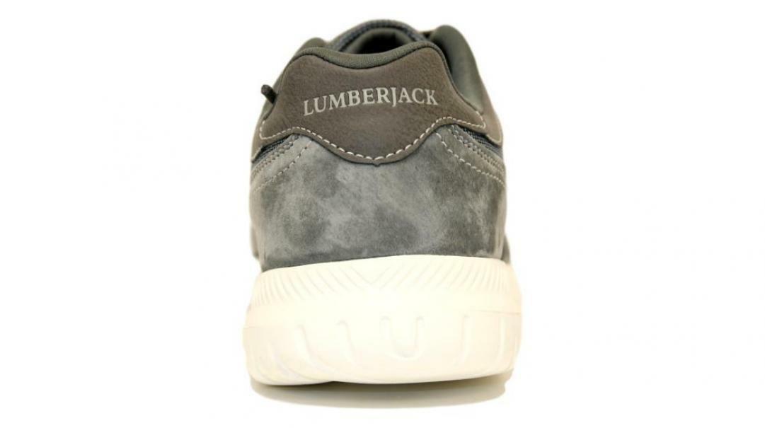 lumberjack lumberjack yuri allacciato sportivo uomo sm54312-001 v43  cd020 grigio