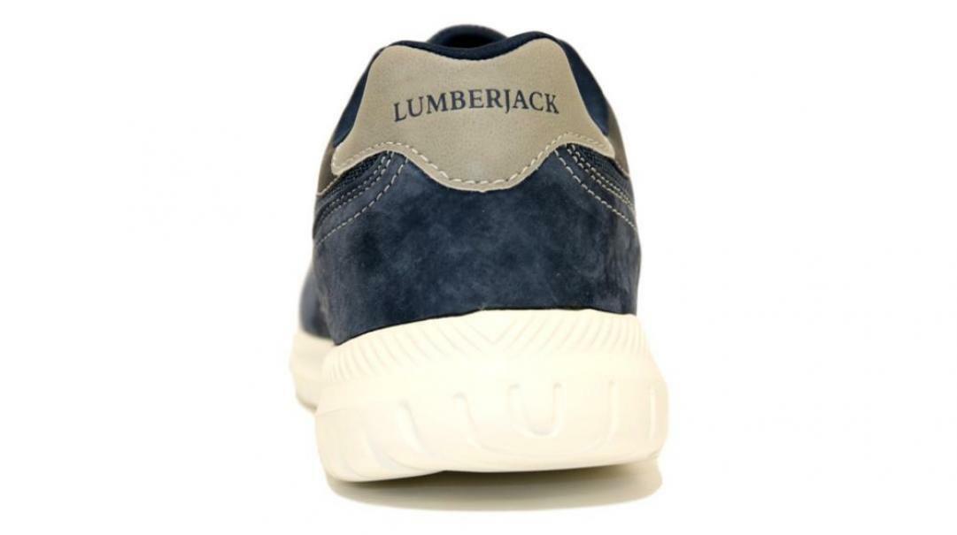 lumberjack lumberjack yuri allacciato sportivo uomo sm54312-001 v43 cc023 blu