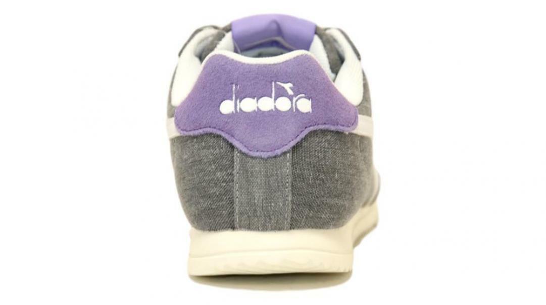 diadora diadora jog light c donna 171578 grigio/viola