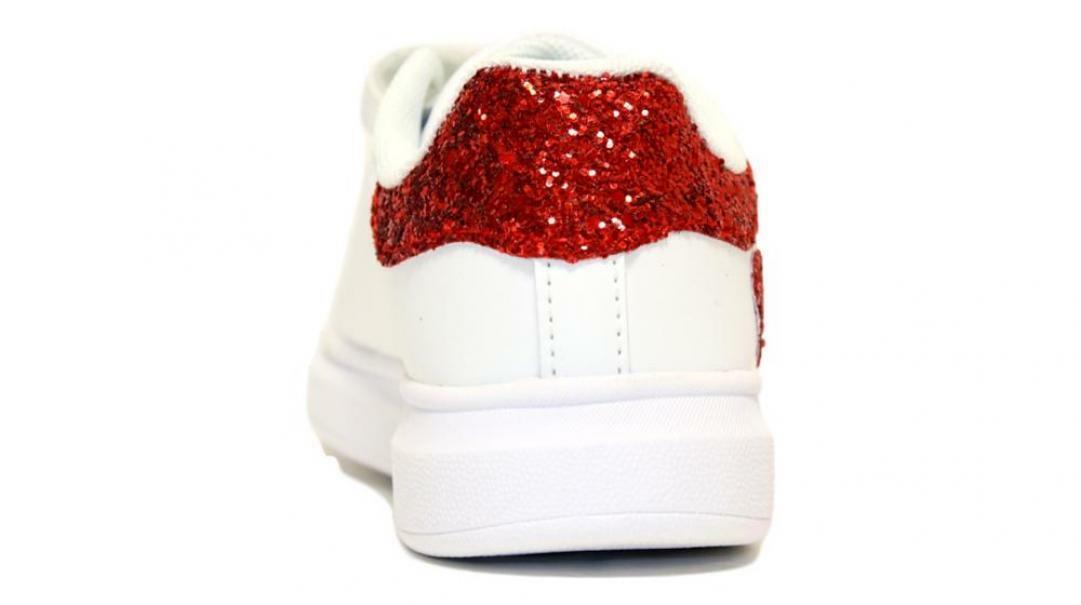 lelli kelly lelli kelly sneakers bambina lk1838 bianco/rosso