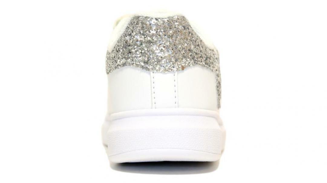 lelli kelly lelli kelly sneakers bambina lk1838 bianco/argento