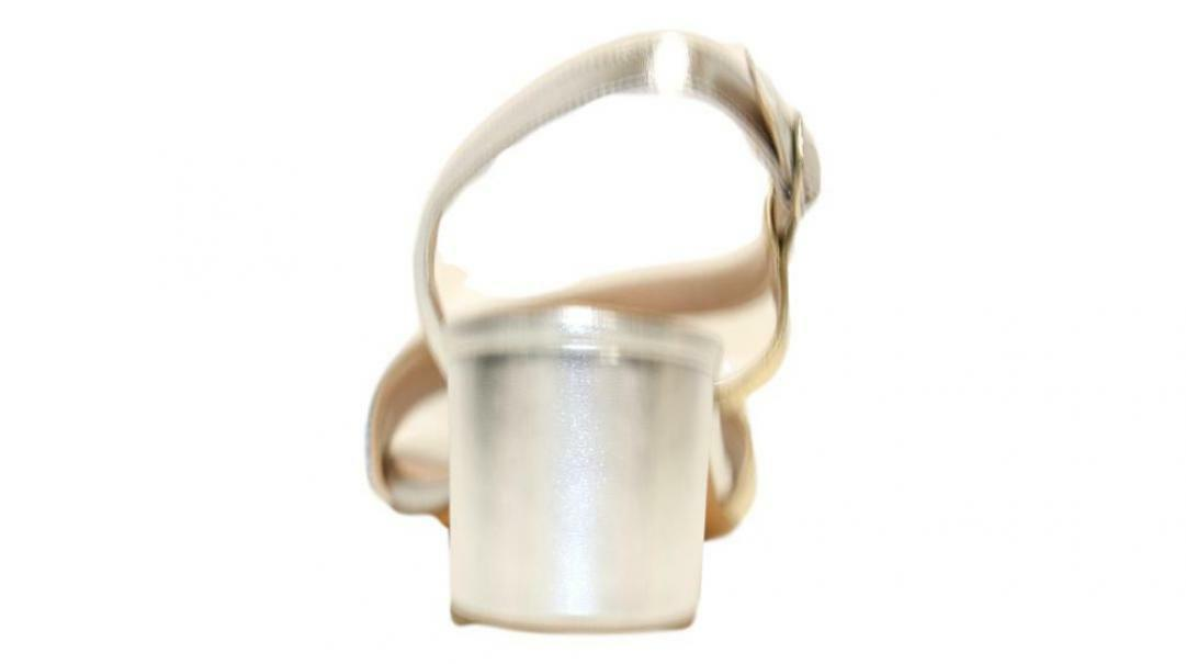 lamour lamour sandalo donna 244 argento/oro
