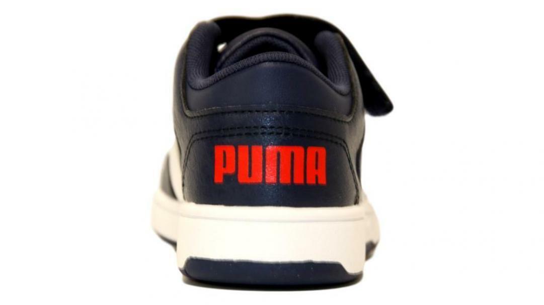 puma puma rebound layup lo garment washed ac ps 371469 003 blu