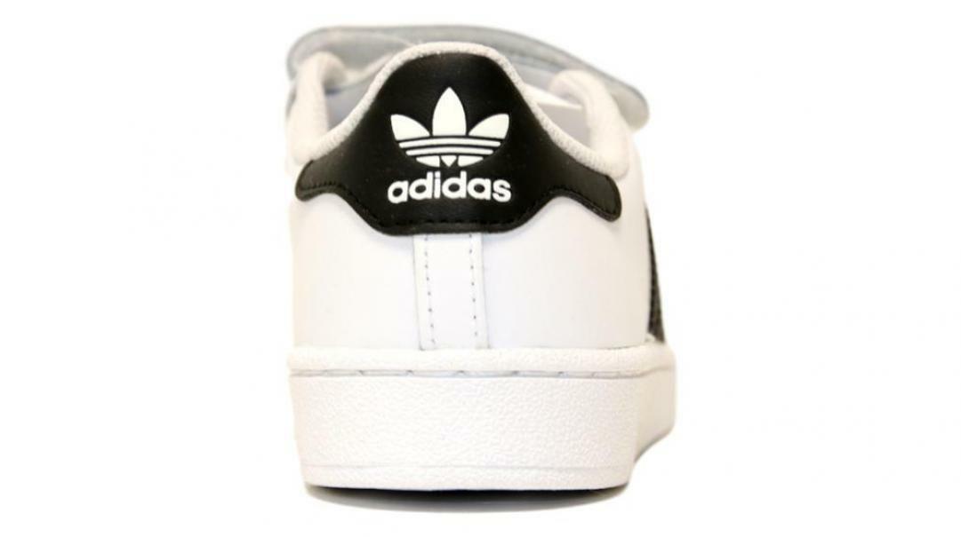 adidas adidas superstar cf c bambino b26070 bianco