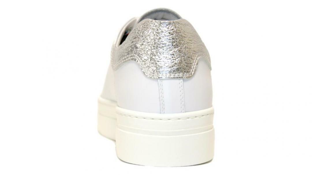 nero giardini nero giardini sneakers donna e010663d 707 bianco argento