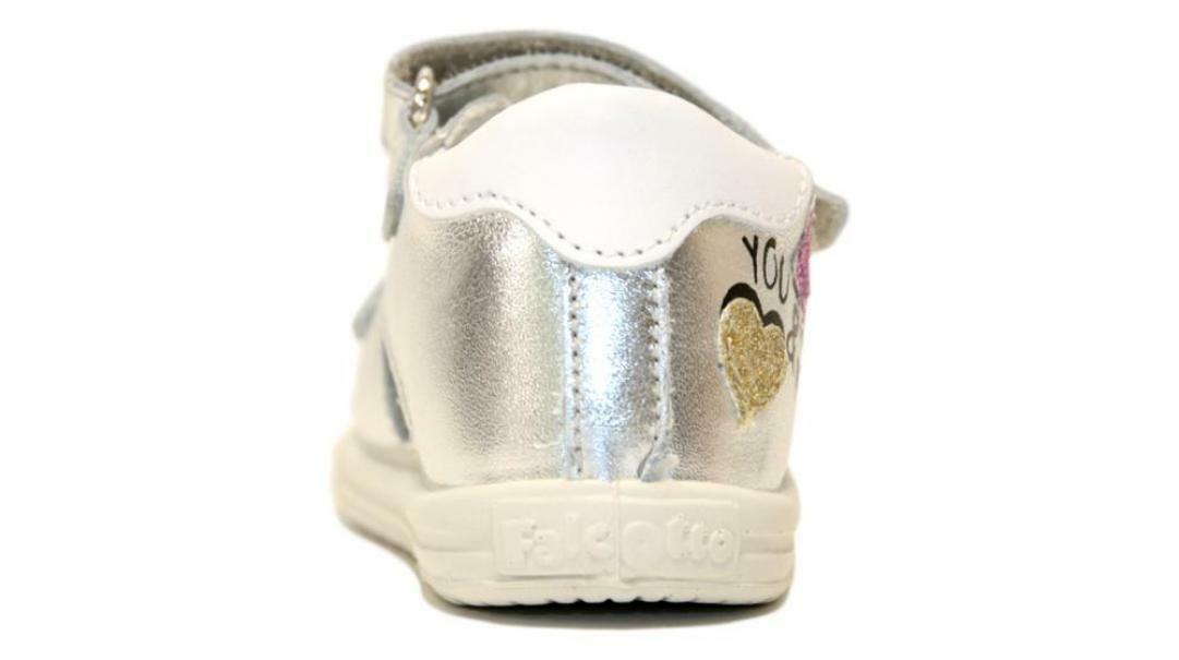 falcotto falcotto sandalo bambina 1500830 02 0q04 argento