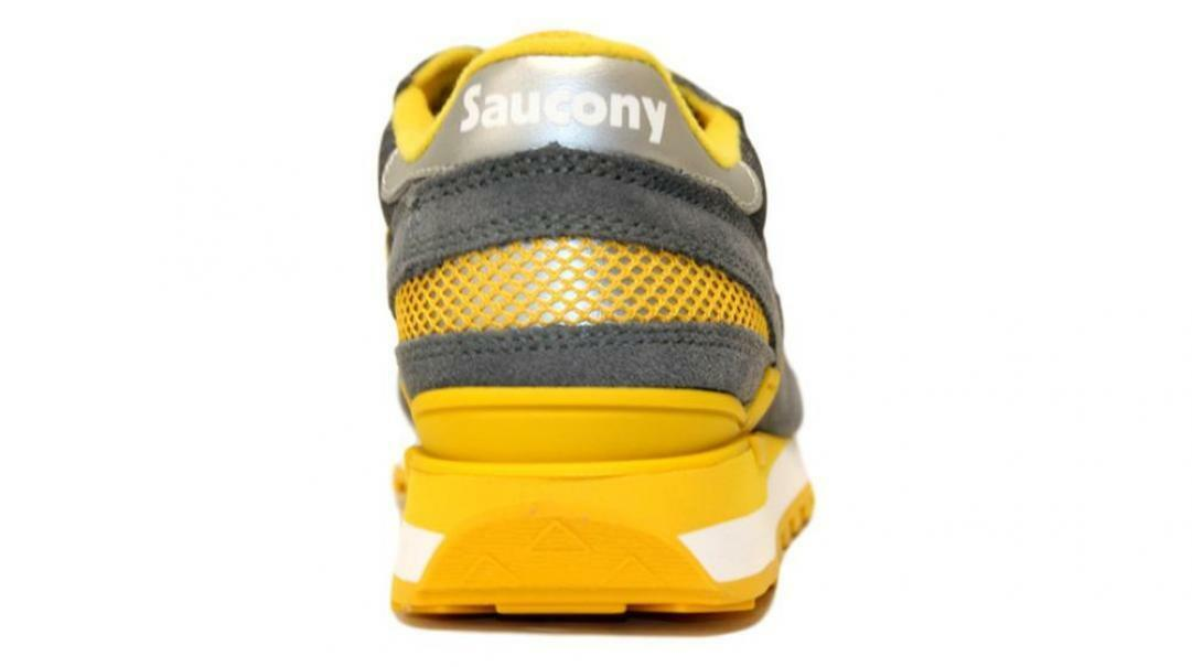 saucony saucony sneakers casroc/yel s2108-733 grigio giallo