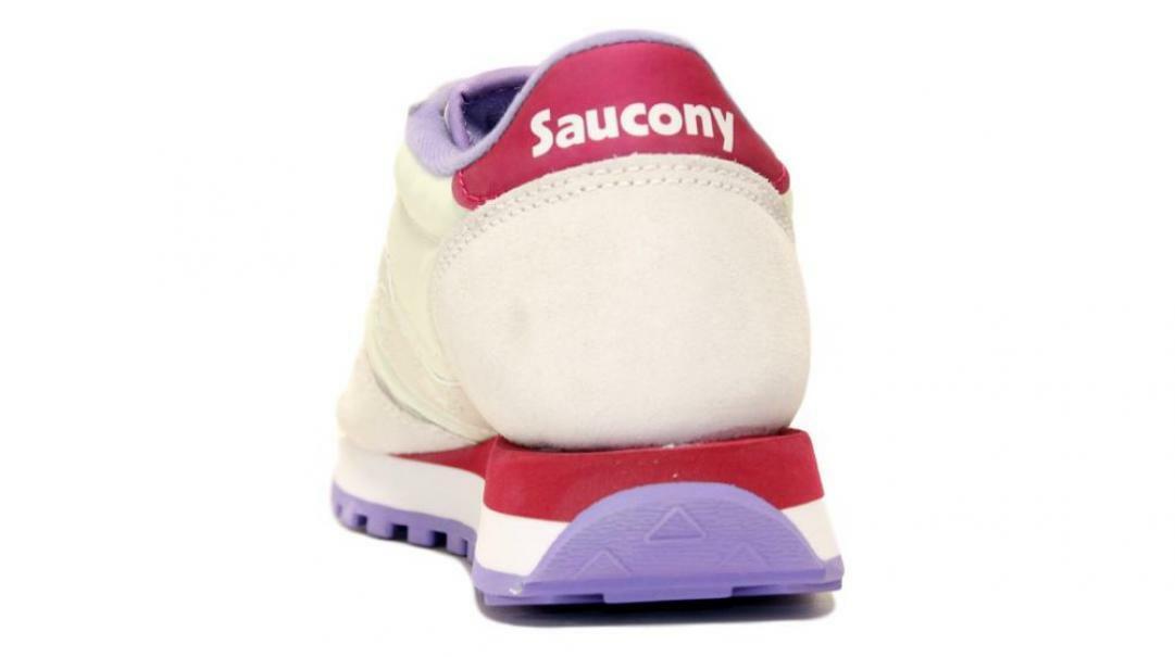 saucony saucony sneakers jazz off wht/ber s1044-570 bianco viola