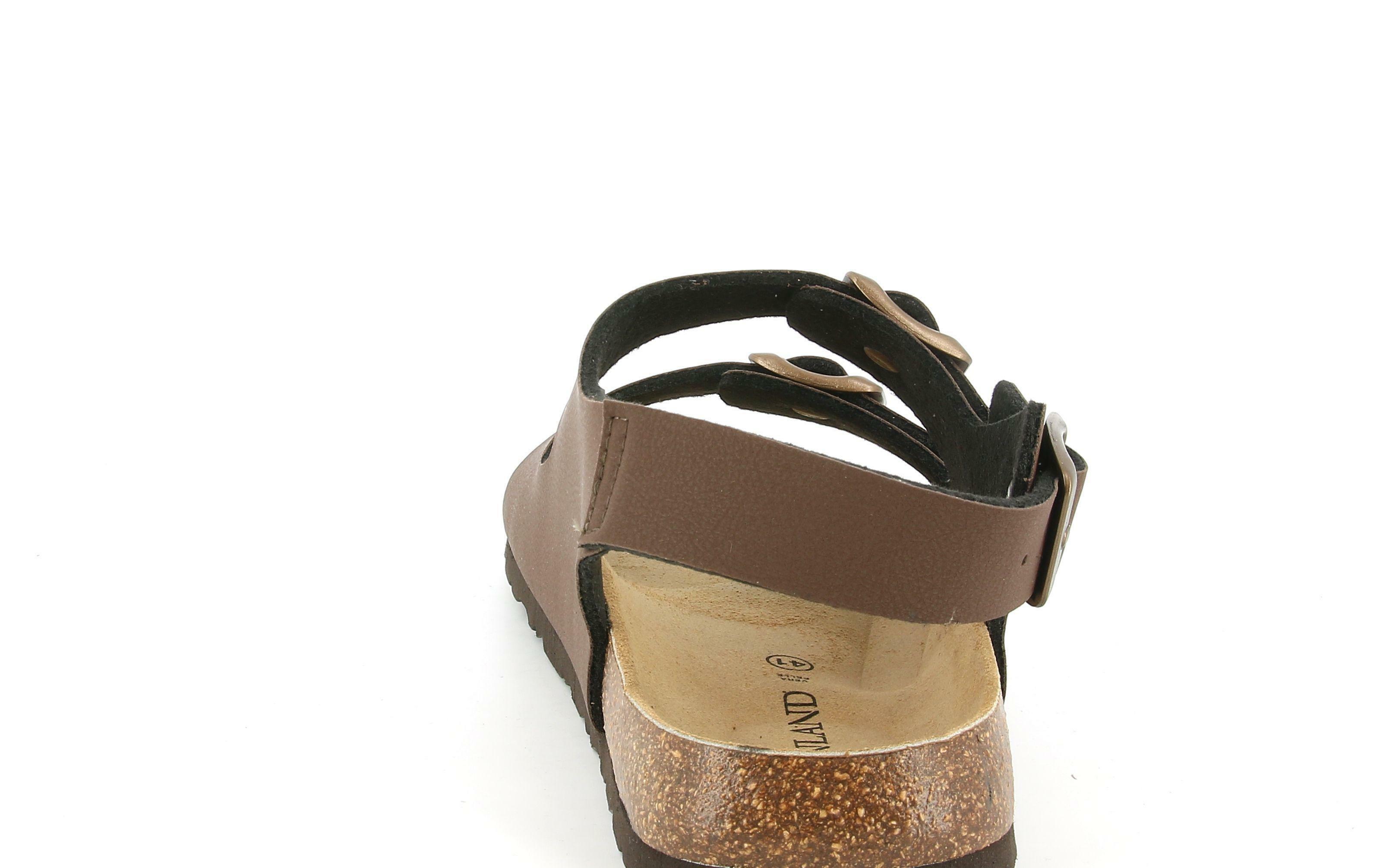 grunland grunland sb3645 40bobo sandalo da uomo mogano