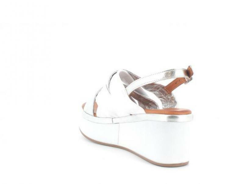 melluso melluso sandalo donna k55100 bianco sandalo zeppa