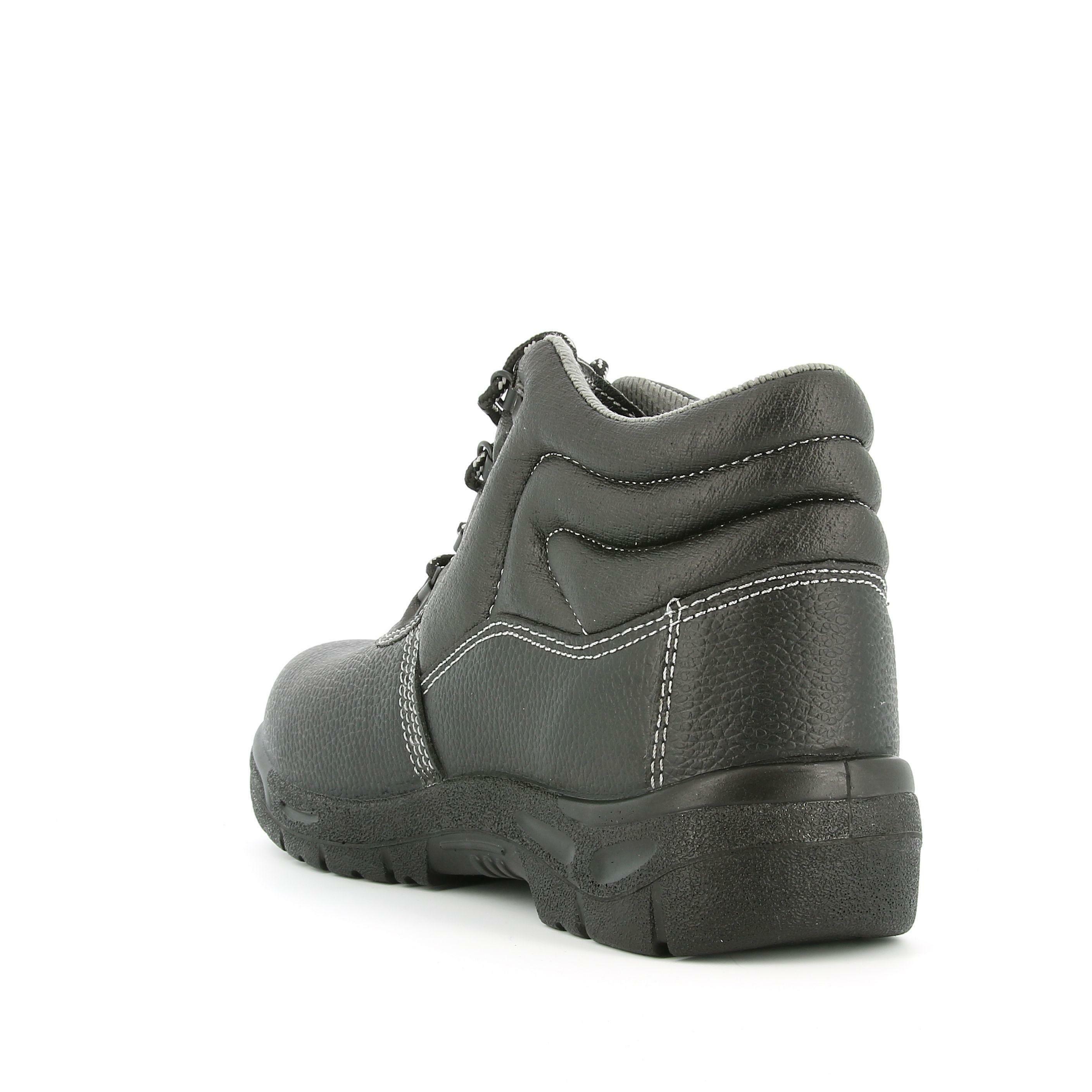 level 1 level 1 antinfortunio calz. alta pelle 10102 s1p nero
