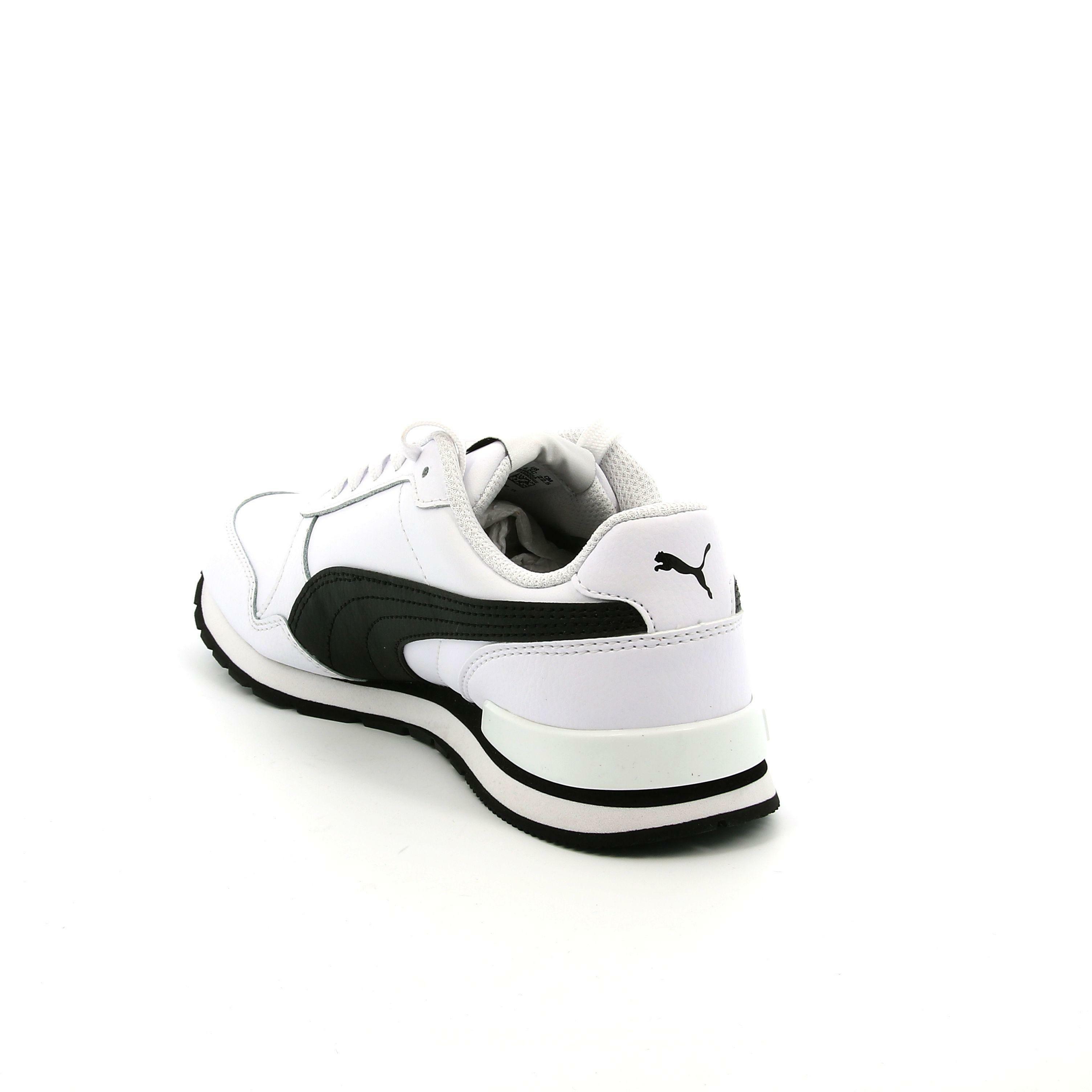 puma puma st runner v2 l jr unisex 366959 008 bianco scarpe sportive