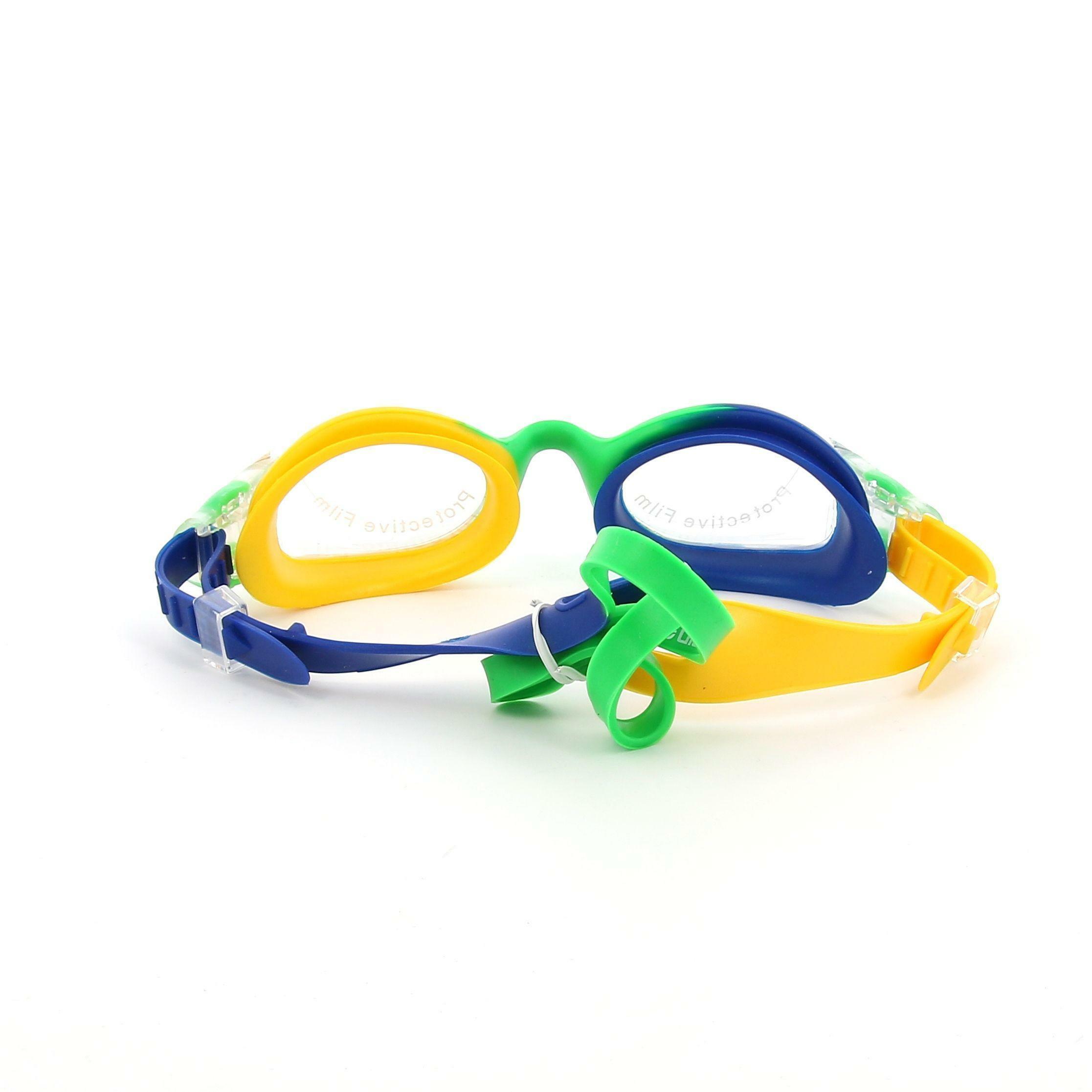 aquarapid aquarapid occhialino swimmer unisex bambino giallo verde