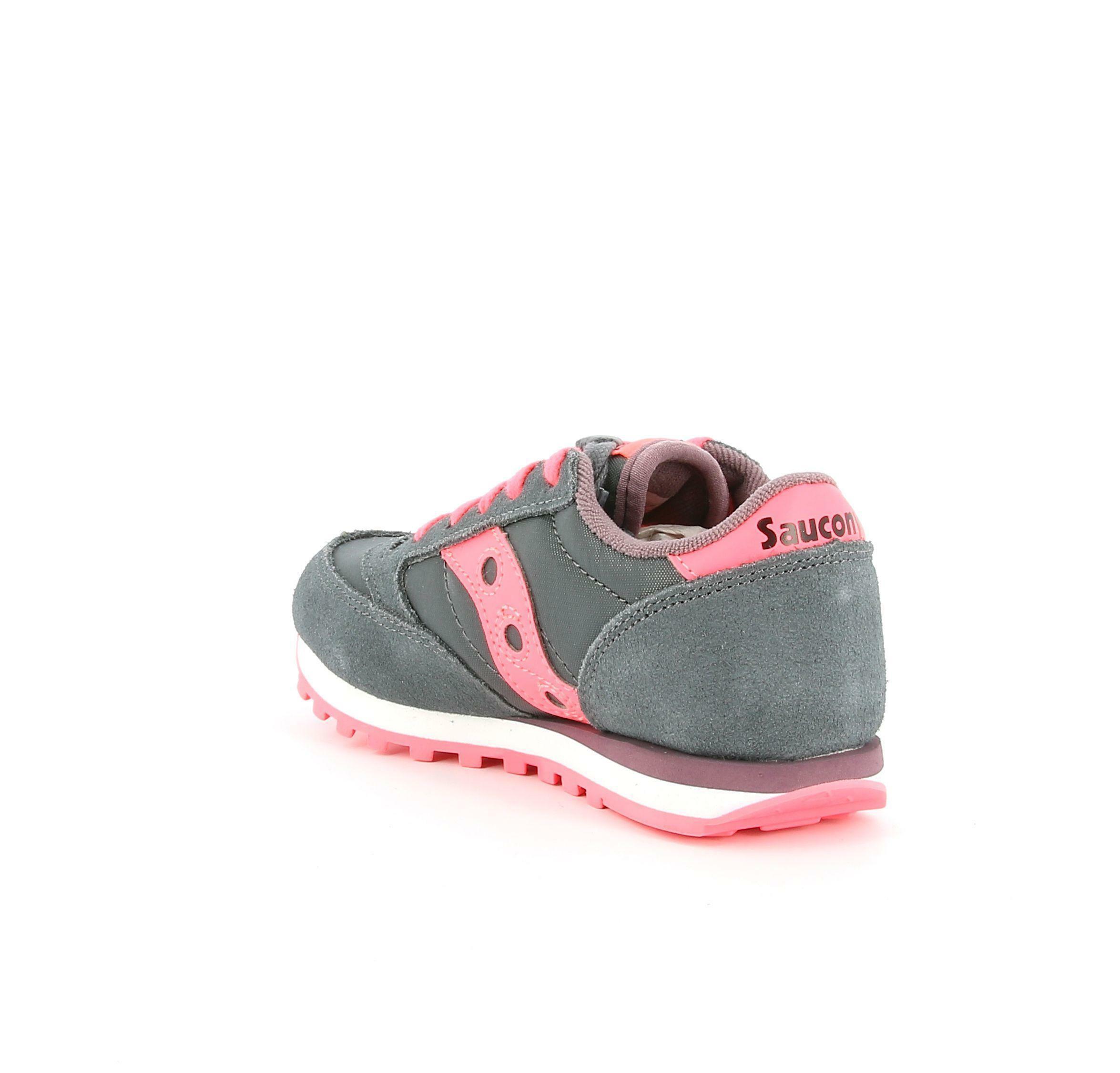 saucony saucony sneakers bassa bambina sk163333 grigio