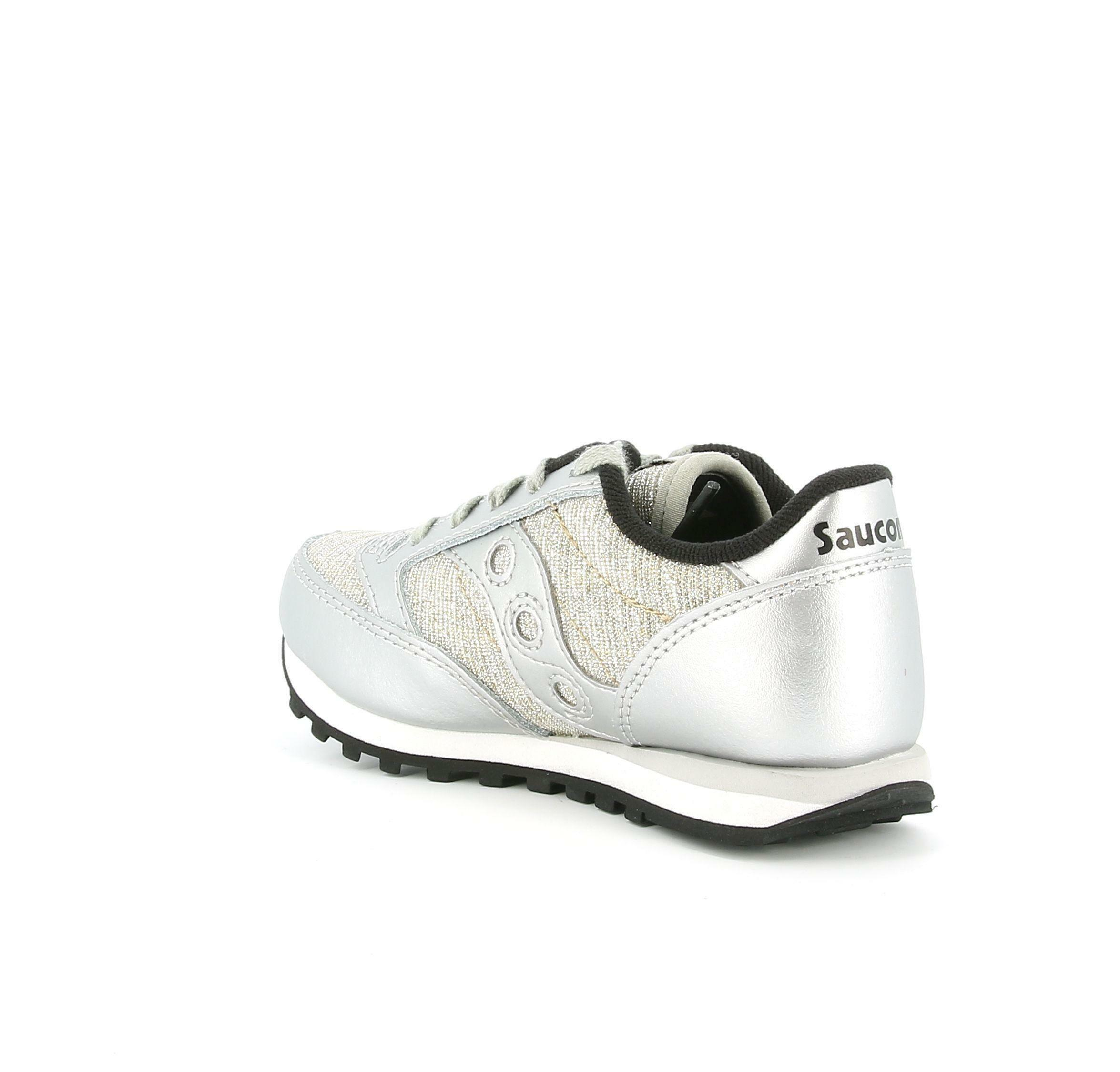 saucony scarpe girl jazz saucony original silversprkle sk163334