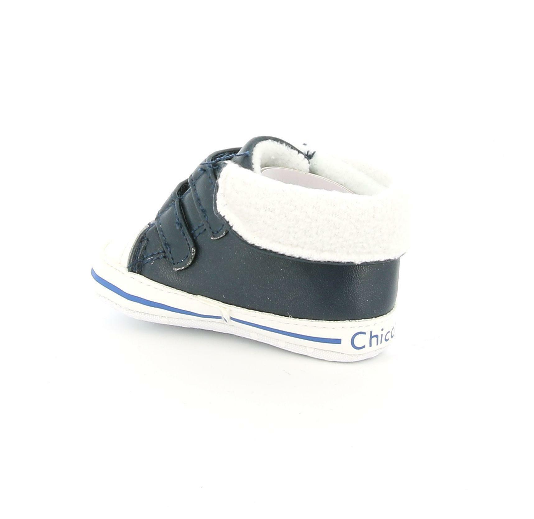 chicco chicco culla 64122 blu sneakers bimbo