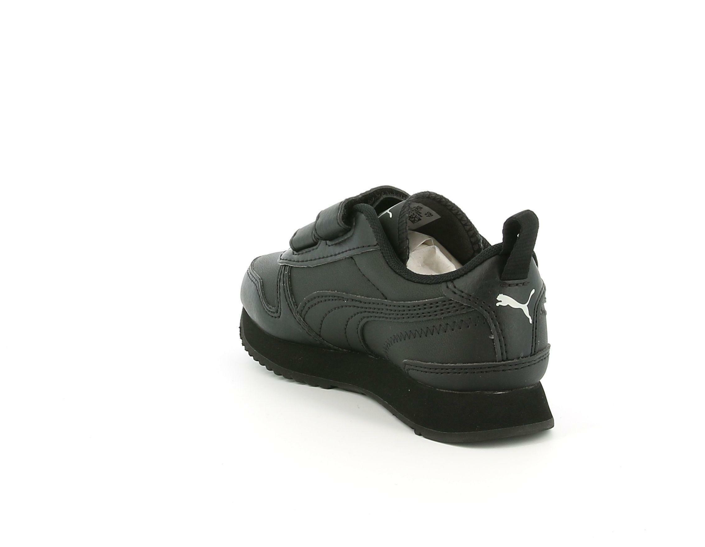 puma puma r78 sl v ps 374429 001 nero scarpe da ginnastica bambino unisex